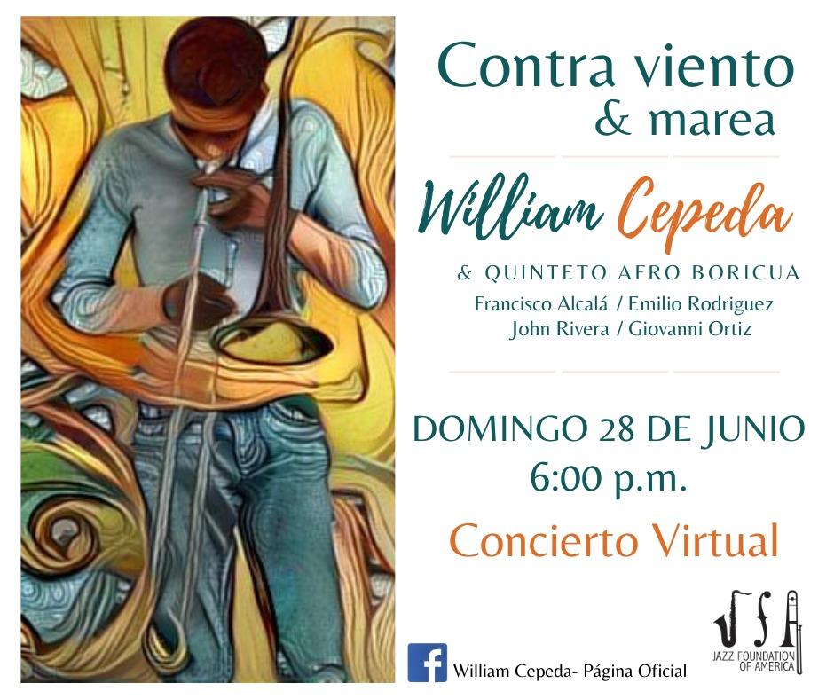 """""""Repiquetea"""" lo nuevo de William Cepeda en su primer concierto virtual."""